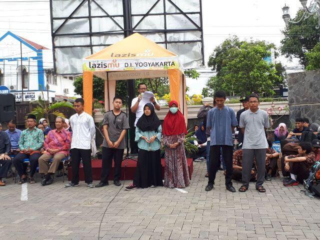 Delegasi  Propinsi Daerah Istimewa Yogyakarta  berangkat menuju Bandar Lampung