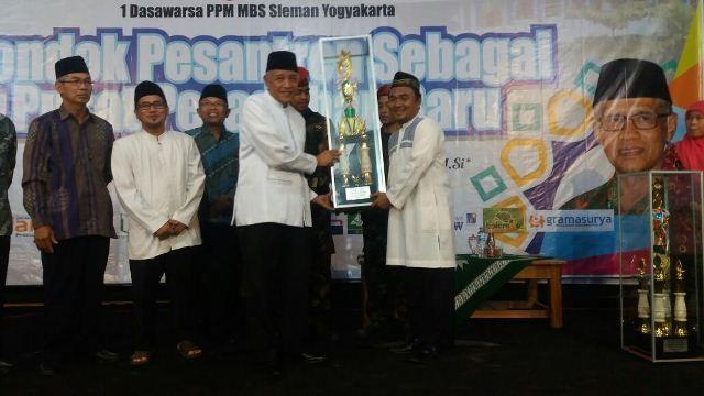 SMA Muhi Juara Umum Event Nasional Milad Dasawarsa MBS Prambanan