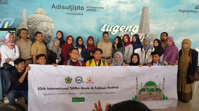 SMA Muhi Siap Berlaga pada Ajang International Silifke Music and Folklore Festival di Turki