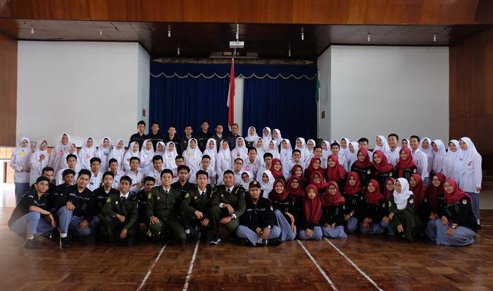 Pelantikan Anggota PASTI Pasukan Inti Angkatan ke-34 SMA Muhi tahun 2018